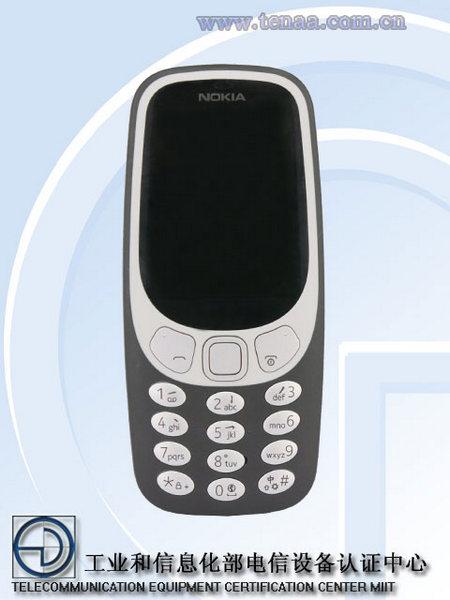 Мобильный телефон Nokia 3310 4G почти не будет отличаться от младших версий