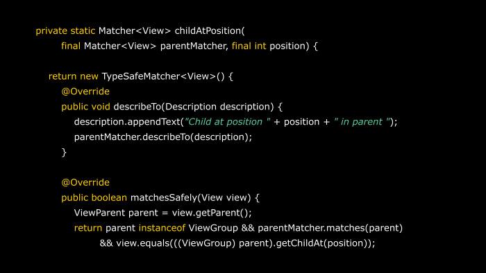 Практика написания Android-тестов. Лекция Яндекса - 34