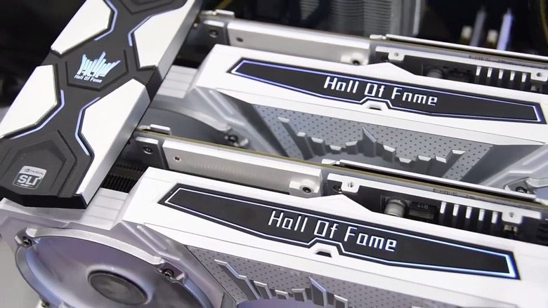 3D-карта Galax GeForce GTX 1070 Ti HOF не будет разогнана производителем