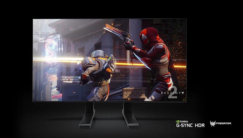 Монитор Acer Predator Big Format Gaming Display вышел в рамках инициативы Nvidia BFGD