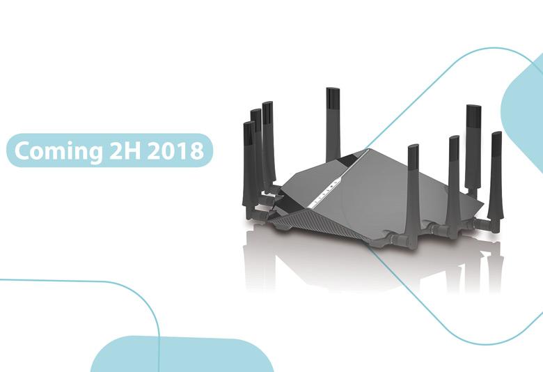 Оснащение AX6000 и AX11000 включает порт Ethernet 5 Гбит/с