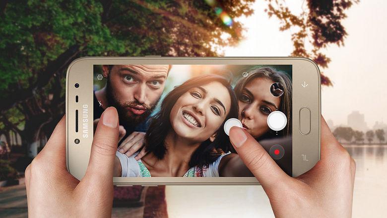 Представлен смартфон Samsung Galaxy J2 Pro (2018)