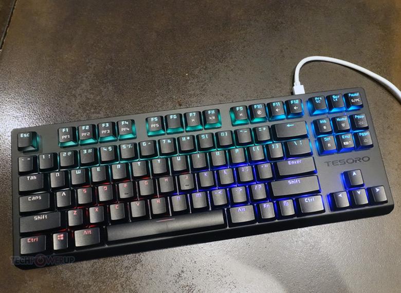 На рынке клавиатура Gram TKL появится в текущем полугодии