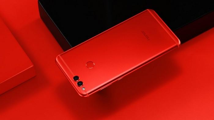 200-долларовый смартфон Honor 7X получит функцию распознавания лиц пользователей