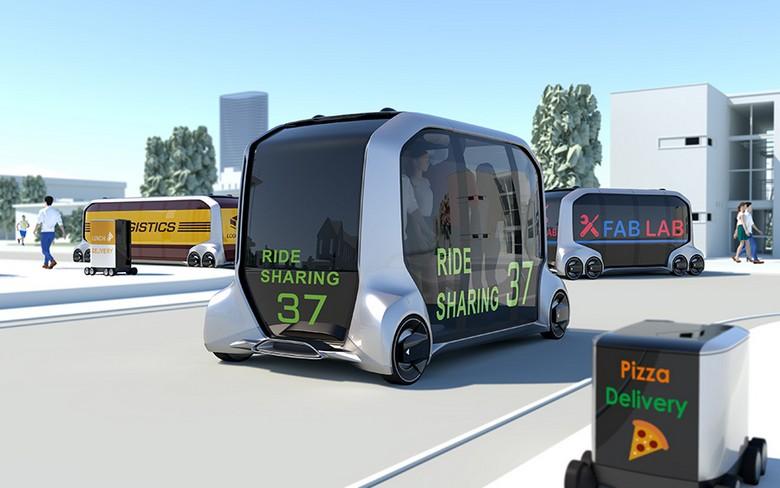 Toyota рассказала об альянсе e-Palette Alliance и концепте e-Palette Concept Vehicle