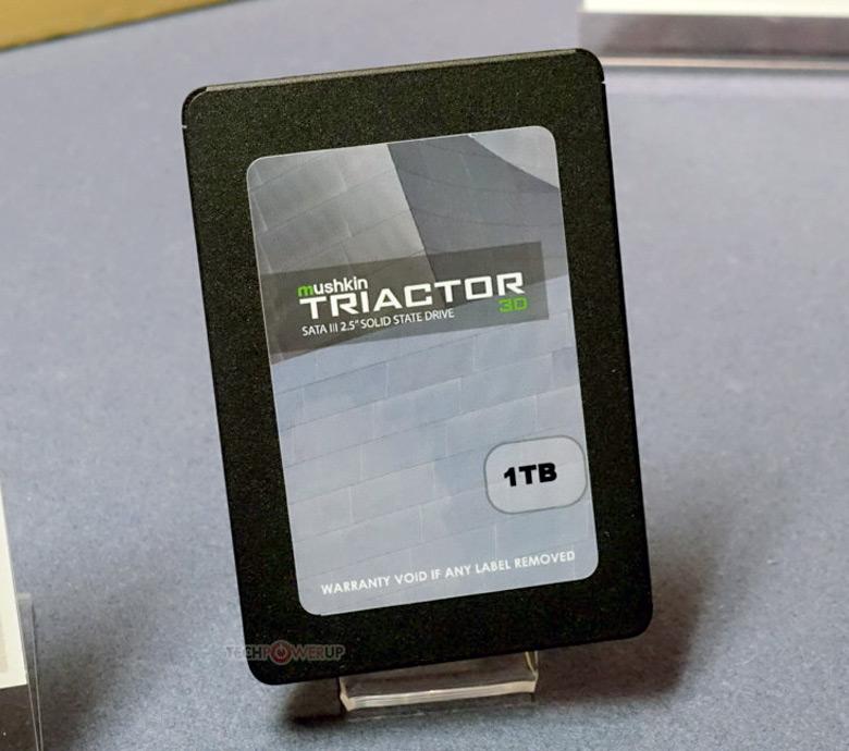 Покупателями будут предложены накопители Mushkin Triactor 3DX и 3DL объемом 120, 250, 500 и 1000 ГБ