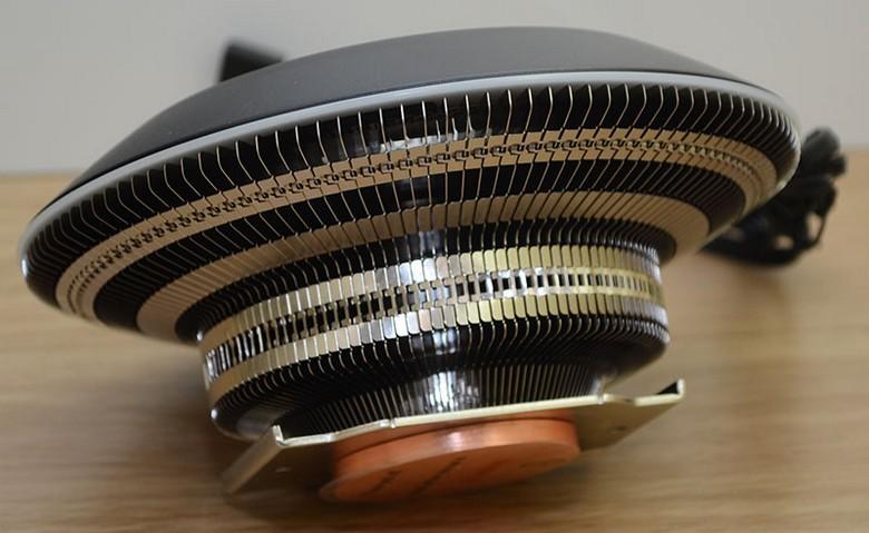 Кулер Cooler Master MasterAir G100M  выглядит оригинально