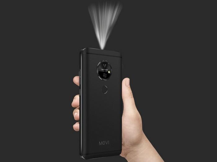 Смартфон Moviphone оснащен встроенным проектором