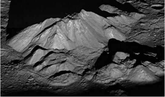 На Луне есть потухшие вулканы