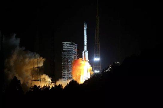 Ракета-носитель взорвалась в Китае