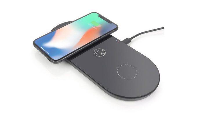 Lxory выпустила беспроводную зарядную станцию для двух смартфонов