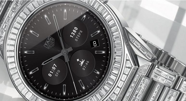 TAG Heuer Connected Modular 45 Full Diamond оцениваются почти в 200 000 долларов