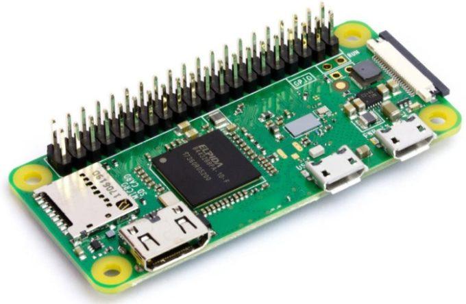 Одноплатный ПК Raspberry Pi Zero WH стоит 15 долларов