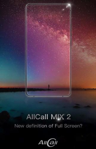 Полноэкранный смартфон AllCall Mix 2 получил Helio P23 и 6 ГБ ОЗУ