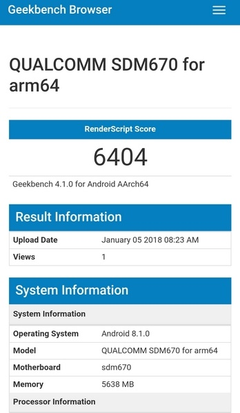 Snapdragon 670 получит производительное графическое ядро