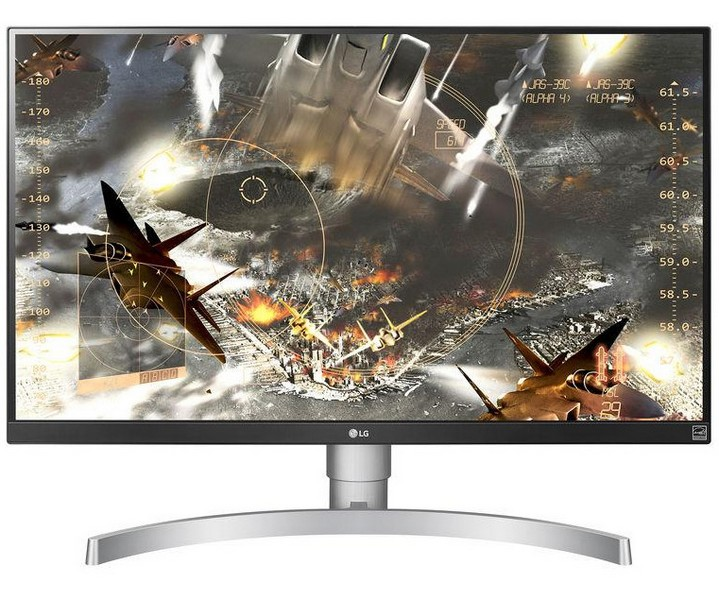 LG оснастила монитор 27UK650-W панелью IPS разрешением 4K UHD