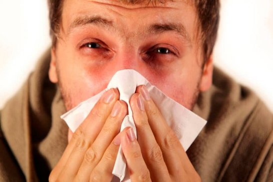 Вирус гриппа распространяется, даже если больной не кашляет и не чихает