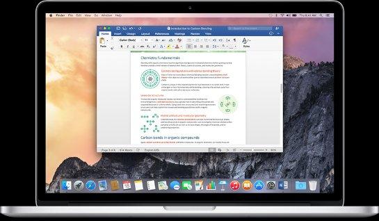 Office для Mac добавляет редактирование документа в режиме реального времени