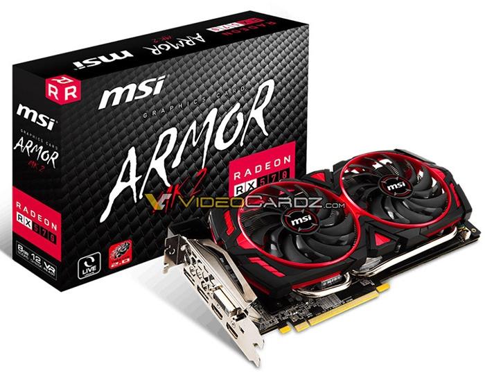 Radeon RX 570 Armor MK2