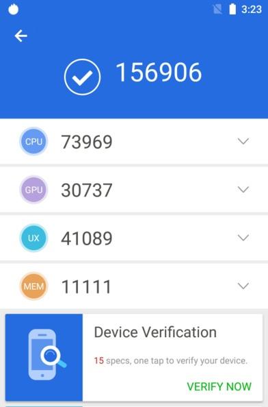SoC MediaTek Helio P70 набрала в AnTuTu 157 000 баллов