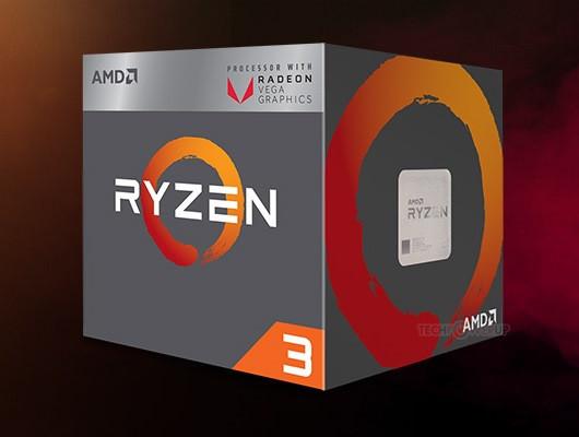 Появились изображения коробок настольных APU Ryzen