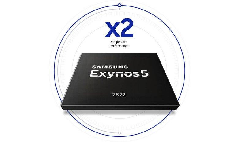 По итогам 2017 года Samsung заняла четвертое место на рынке однокристальных систем для смартфонов