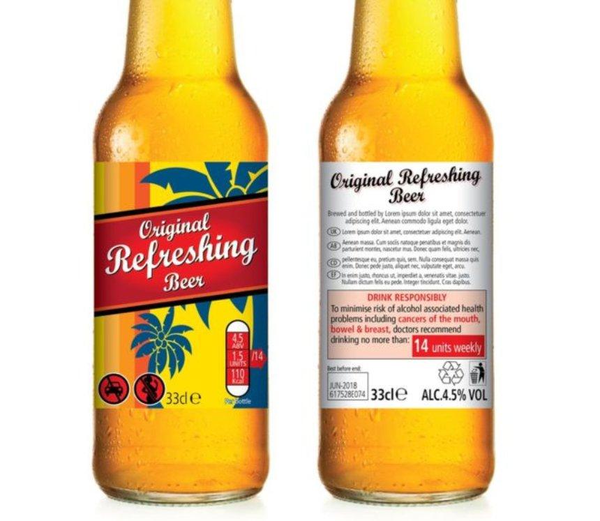 На этикетках спиртных напитков будут писать информацию о вреде алкоголя