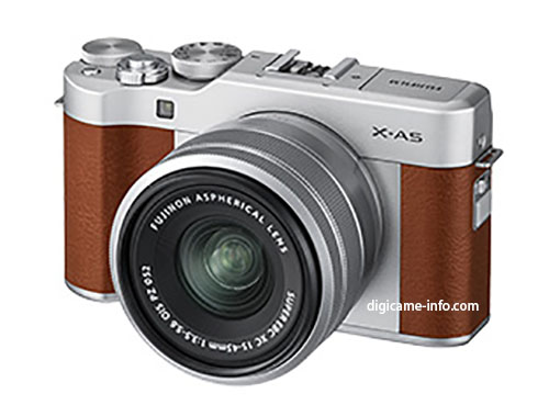 Анонс камеры Fujifilm X-A5 и объектива Fujinon XC 15-45mm f/3.5-5.6 ожидается в конце этого месяца или в начале следующего
