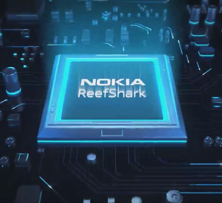 По оценке производителя, Nokia ReefShark утраивает пропускную способность соты