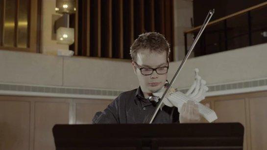Студент распечатал в 3D шестиструнную скрипку