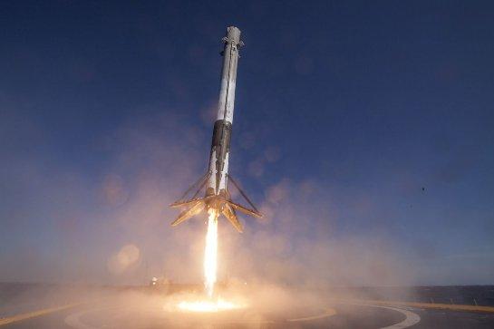 Watch SpaceX запускает спутник для Люксембурга на ракете Falcon 9
