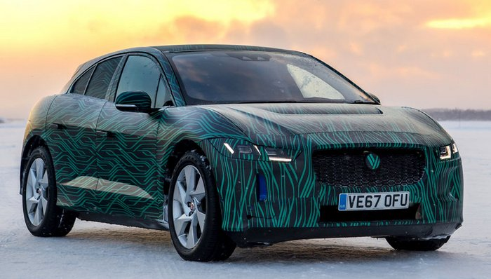 Прием предварительных заказов на электромобиль Jaguar I-Pace начнется 1 марта