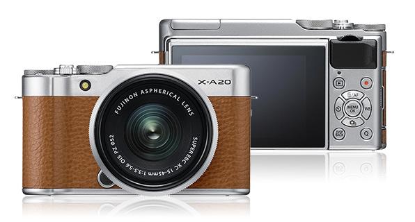 В камере Fujifilm X-A20 используется датчик изображения формата APS-C разрешением 16,3 Мп