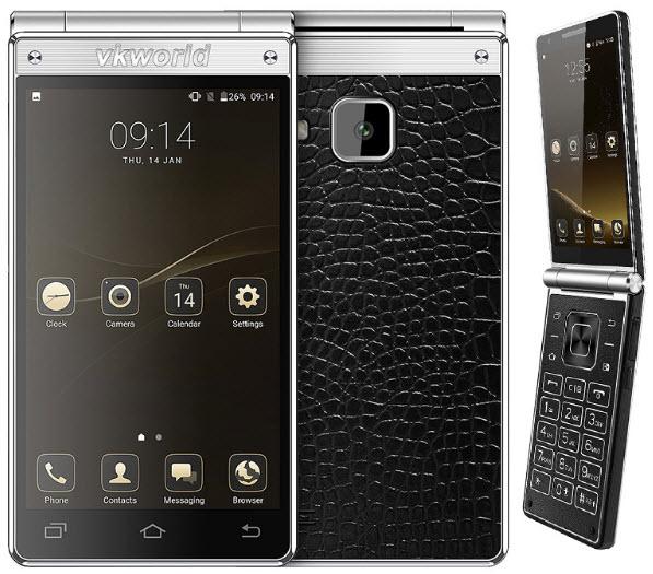 Раскладушка Vkworld T2 Plus стала самым дорогим смартфоном производителя