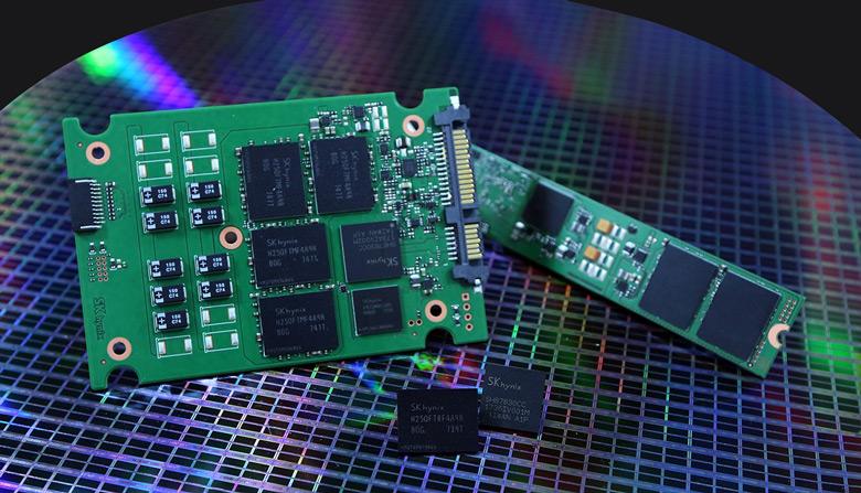 Контроллеры и встроенное программное обеспечение также разработаны SK Hynix