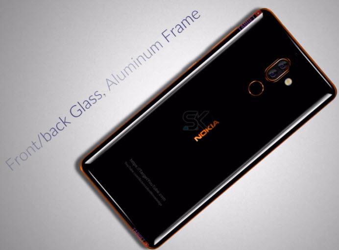 Опубликованы изображения смартфона Nokia 7 Plus