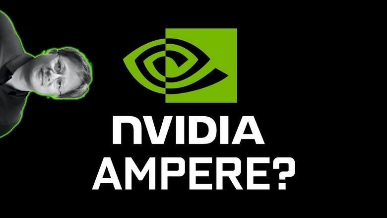3D-карты Nvidia Ampere появится весной