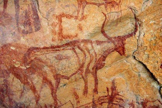 Древние люди научились рисовать благодаря охоте