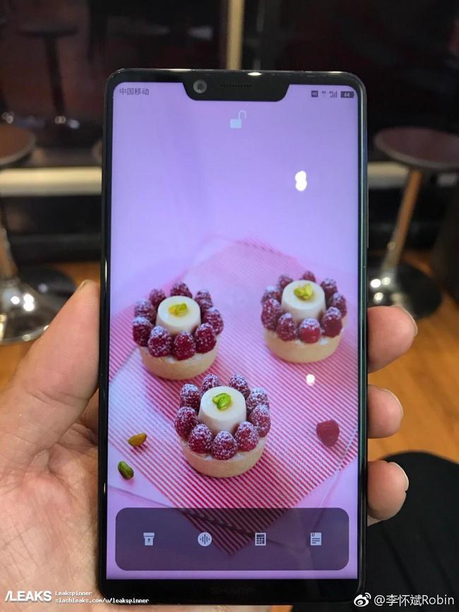 Опубликованы живые фотографии смартфона Sharp Aquos S3
