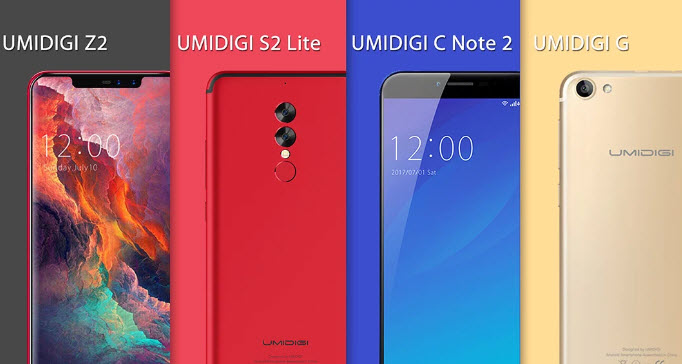 Umidigi объяснила значение названия компании и позиционирование серий Z, S, C и G