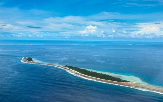 Остров в Тихом океане стал больше не смотря на повышение уровня Мирового океана