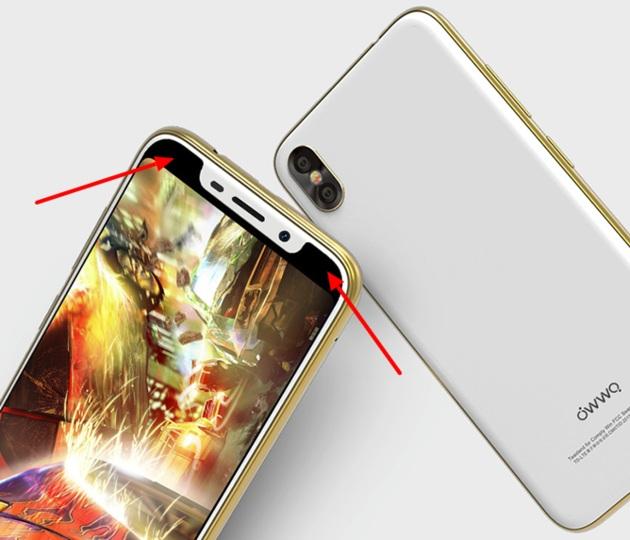 Смартфон Owwo X оказался не клоном iPhone X, а очередной подделкой