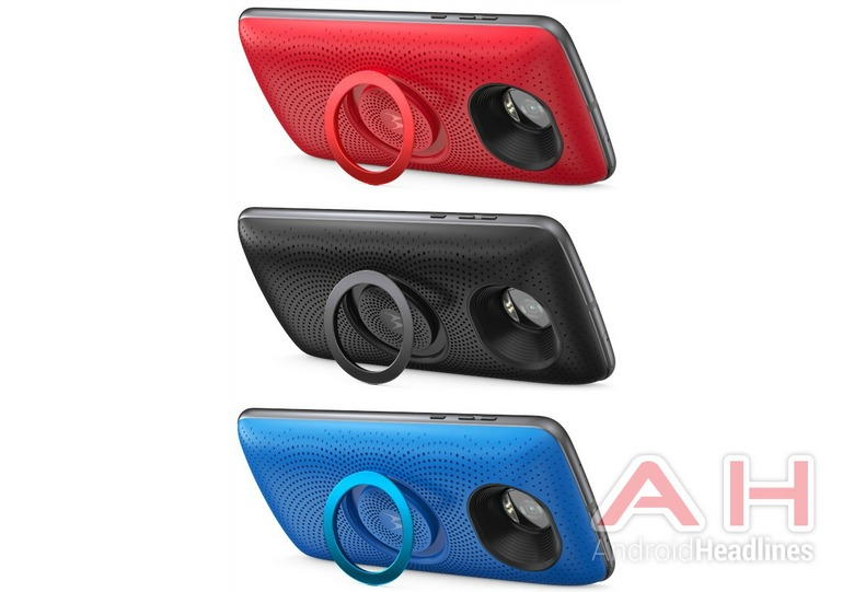 Новый модуль Moto Mod будет называться Stereo Speaker Mod