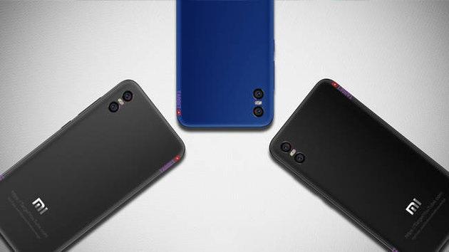 Появились новые компьютерные изображения смартфона Xiaomi Mi 7