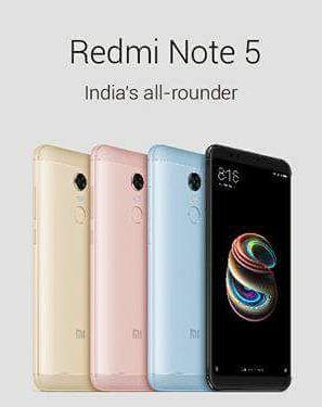 Опубликованы характеристики и изображения смартфонов Xiaomi Redmi Note 5 и Redmi Note 5 Pro