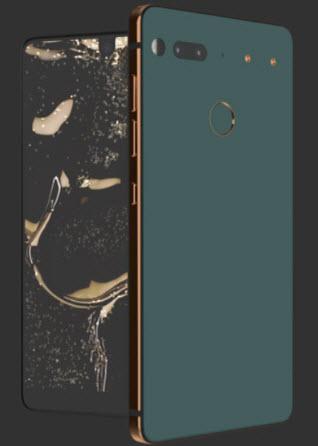 Смартфон Essential Phone в цвете Ocean Depths представят завтра