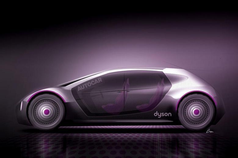 Dyson разрабатывает собственные электромобили