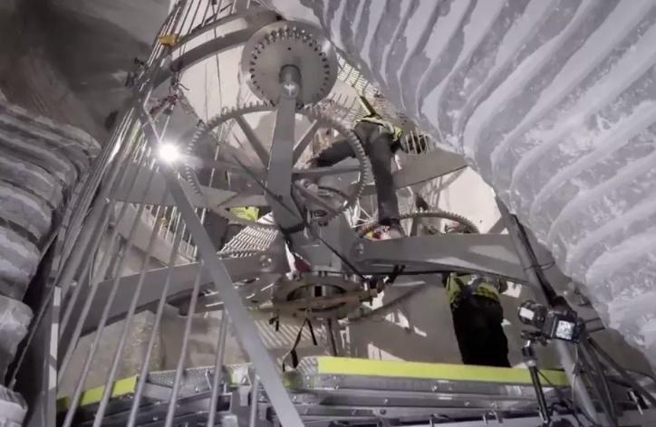 Часы 10,000 Year Clock вскоре будут введены в строй