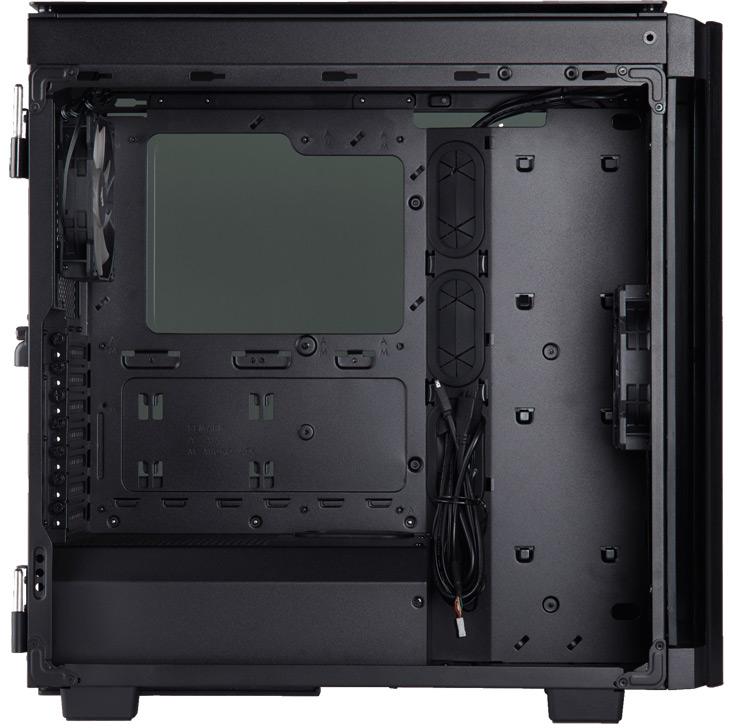 К особенностям корпуса можно отнести наличие разъема USB-C на панели ввода-вывода