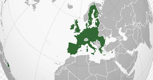 Евросоюз на карте мира